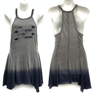 New We the Free Grey Ombre Graphic Tank - Size S